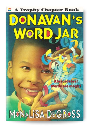 Donavan's Word Jar - Book