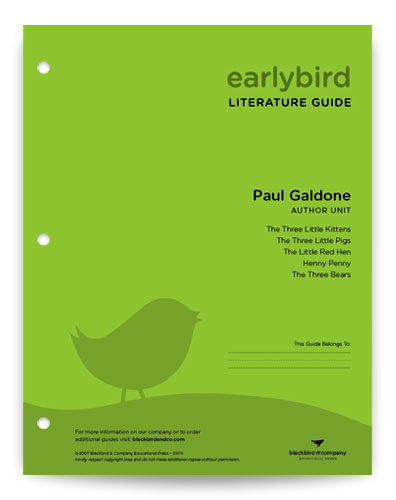 Paul Galdone Author Unit - Guide