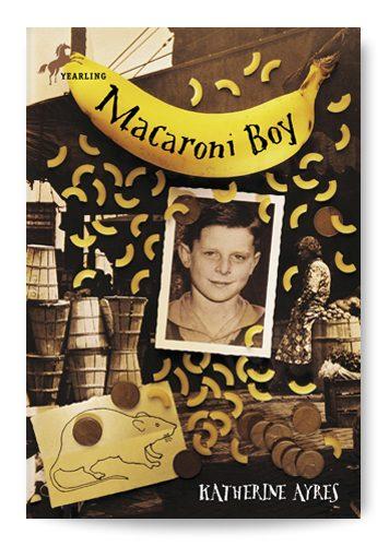 Macaroni Boy - Book